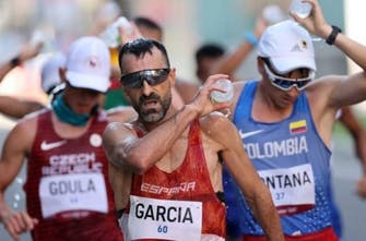 Έγραψε ιστορία ο Garcia τερματίζοντας στην 8η Ολυμπιάδα του στα 50χλμ βάδην