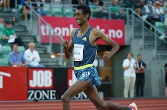 Καλύτερη επίδοση της χρονιάς από τον Yomif Kejelcha στα 3.000 μέτρα στο Όσλο