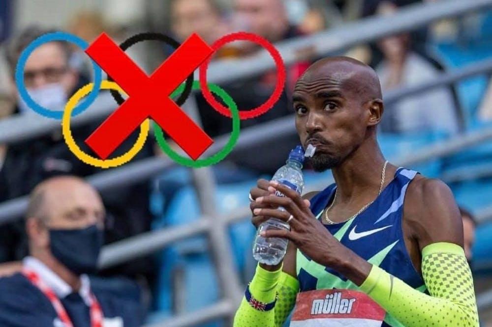Εκτός Ολυμπιακών Αγώνων ο Mo Farah!