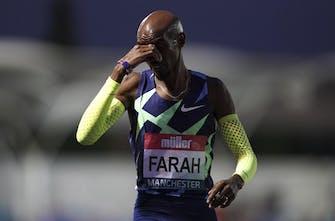 Τραυματίστηκε στο πόδι ο Mo Farah (Pic)