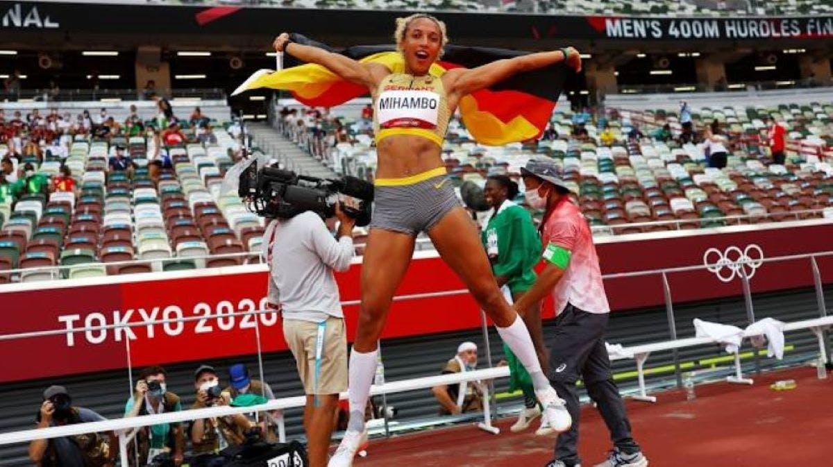 Στο τελευταίο άλμα της η Malaika Mihambo «άρπαξε» το χρυσό στο μήκος γυναικών