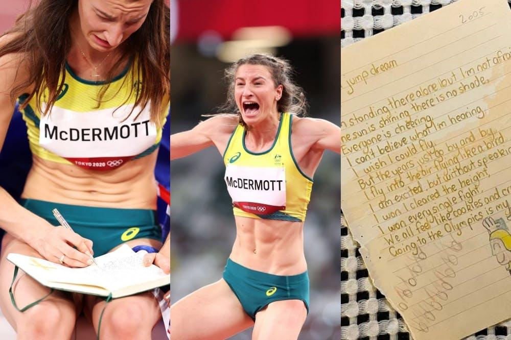 Η συγκινητική ιστορία της McDermott: Το γράμμα στον εαυτό της από το 2005 και το ασημένιο μετάλλιο στους Ολυμπιακούς!