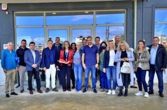 Επισκέφτηκε το Αρκαλοχώρι η πρόεδρος του ΣΕΓΑΣ, Σοφία Σακοράφα