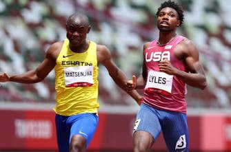 Ακυρώθηκε, δικαιώθηκε και σημείωσε Εθνικό ρεκόρ στα 200μ. ο Matsenjwa