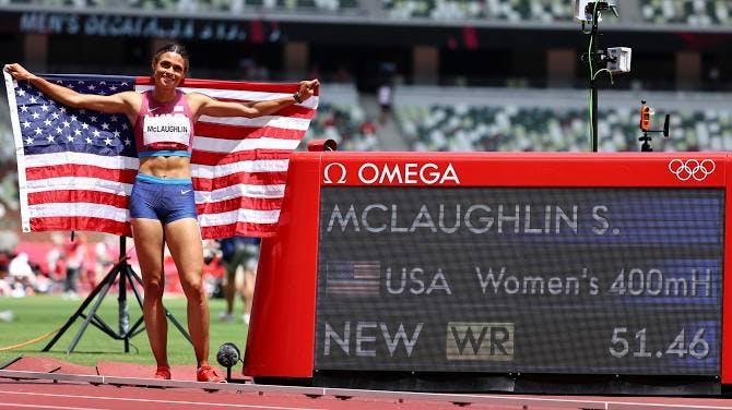 Χρυσή Ολυμπιονίκης με Παγκόσμιο ρεκόρ στα 400μ. εμπ. η Sydney McLaughlin