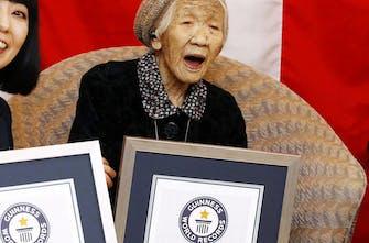 Τόκιο: Εκτός τελετής λαμπαδηδρομίας με φόβο για τον κορωνοϊό η γηραιότερη γυναίκα του κόσμου