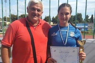 «Χρυσή» στη σφυροβολία η Τζατζιμάκη στο Βαλκανικό πρωτάθλημα Κ18