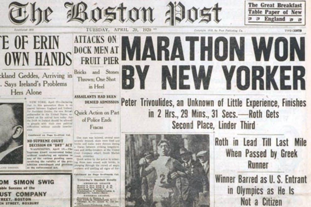 Ο άγνωστος Έλληνας που κέρδισε τον Μαραθώνιο της Βοστώνης πριν από τον Κυριακίδη αλλά έμεινε στην αφάνεια!