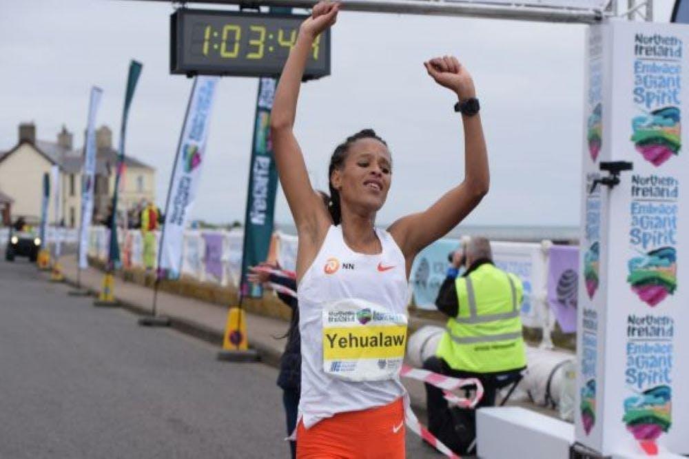Yehualaw: Ποια είναι η κάτοχος του νέου παγκόσμιου ρεκόρ στον Ημιμαραθώνιο