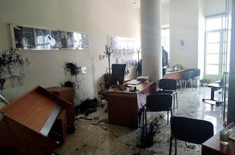 Επίθεση στο πολιτικό γραφείο του Λευτέρη Αυγενάκη