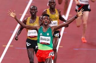 10.000 μέτρα ανδρών: Χρυσός Ολυμπιονίκης ο Barega -  νίκησε Cheptegei και Kiplimo!