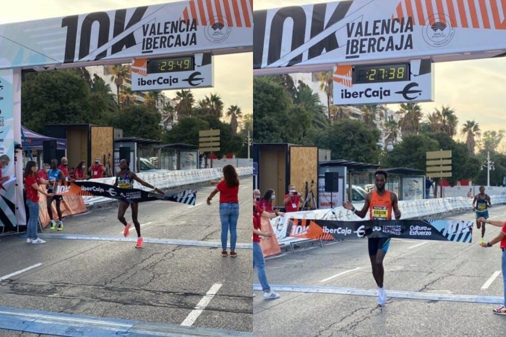 Βαλένθια: Μία ανάσα από το παγκόσμιο ρεκόρ στα 10 χιλιόμετρα η Chelimo –  Πρώτος στους άνδρες με εθνικό ρεκόρ ο Kbron (Vids)