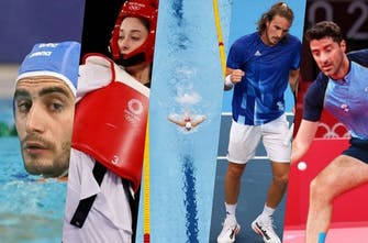 Τι έκαναν σήμερα (25/07) οι Έλληνες αθλητές στους Ολυμπιακούς Αγώνες