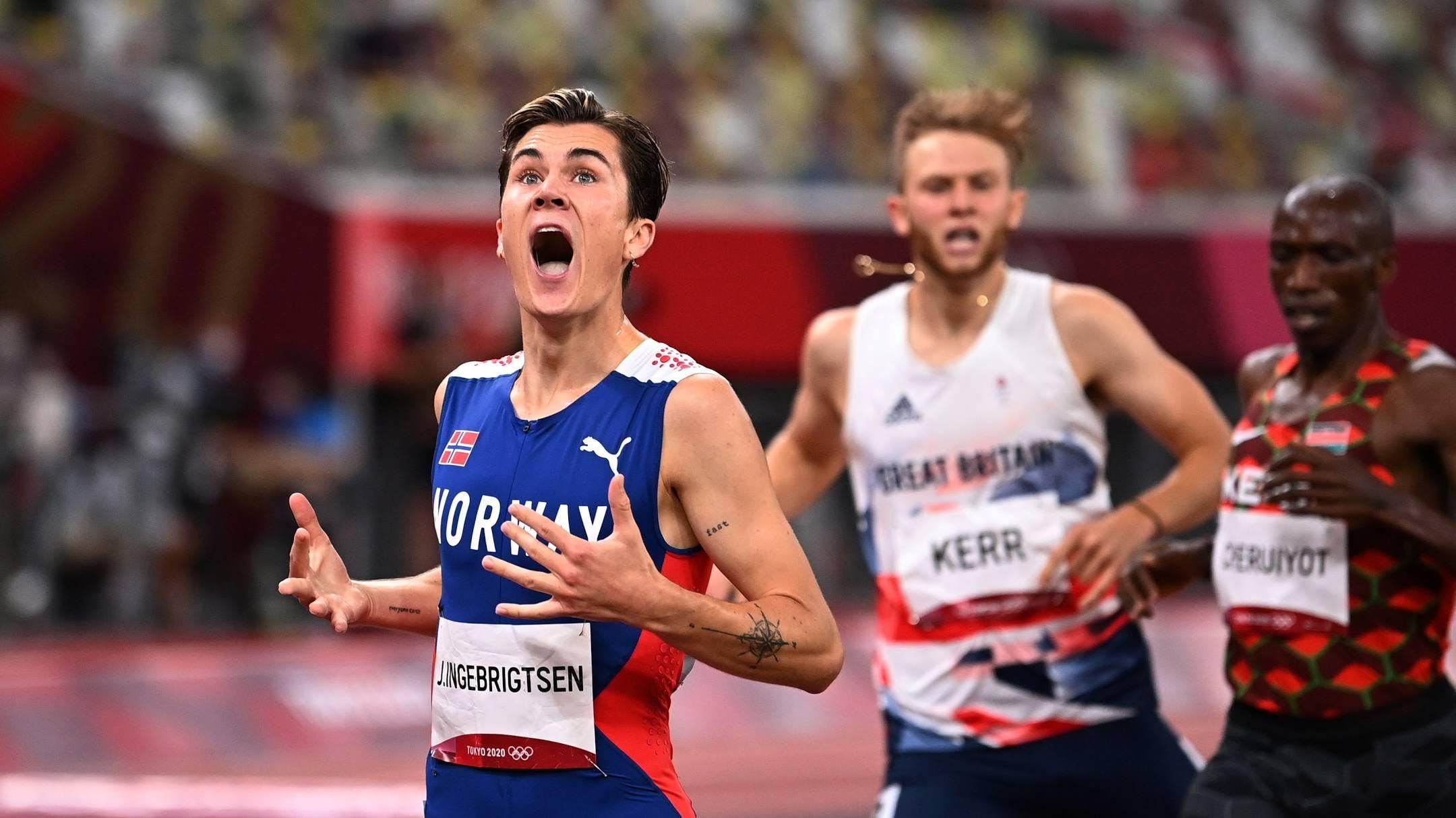 Μεγάλος Ingebrigtsen: Χρυσός με Ολυμπιακό ρεκόρ 3:28.32 στα 1.500 μέτρα