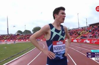 Νικητής ο Jakob Ingebrigtsen με χρόνο 3:36.27 στην κούρσα των 1.500 μέτρων στο Diamond League στο Gateshead