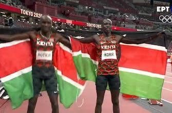 Μεγάλη κούρσα στα 800μ. ανδρών και 1-2 η Κένυα με Korir και Rotich