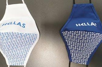 Οι μάσκες της Team Hellas για το Τόκιο