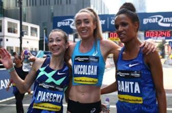 Εξαιρετική με την τρίτη καλύτερη επίδοση στη Μεγάλη Βρετανία στα 10 χιλιόμετρα η McColgan