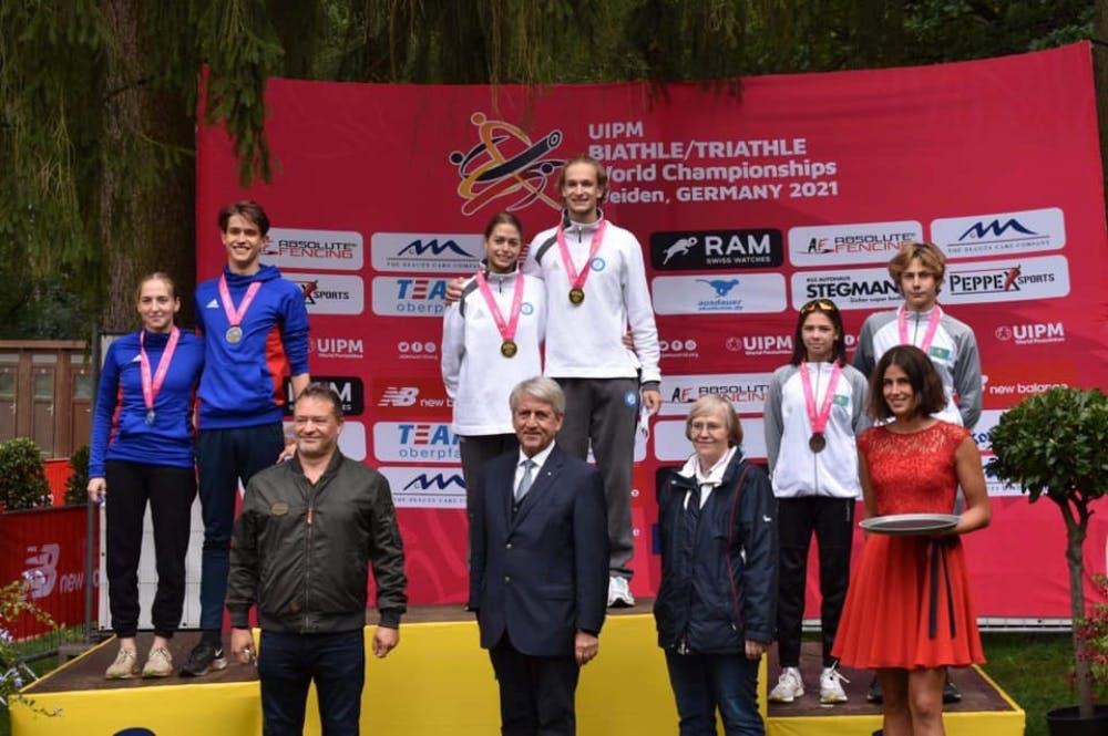 Παγκόσμιοι πρωταθλητές Δραζίνος και Σάρρα!