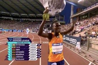 Μεγάλη νίκη της Niyonsaba με εθνικό ρεκόρ στα 5.000 μέτρα στις Βρυξέλλες