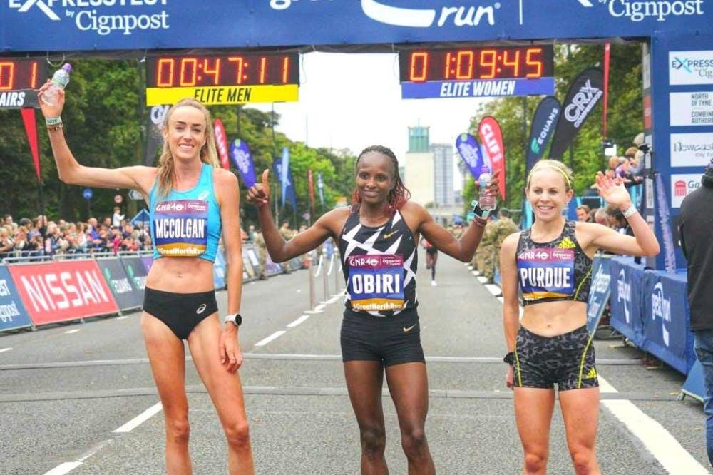 Great North Run: Επικράτησαν Scott και Obiri στον μεγάλο ημιμαραθώνιο! (Vids)