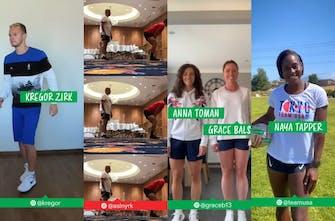 Το διασκεδαστικό βίντεο με τις τελικές ετοιμασίες λίγο πριν τους Ολυμπιακούς Αγώνες