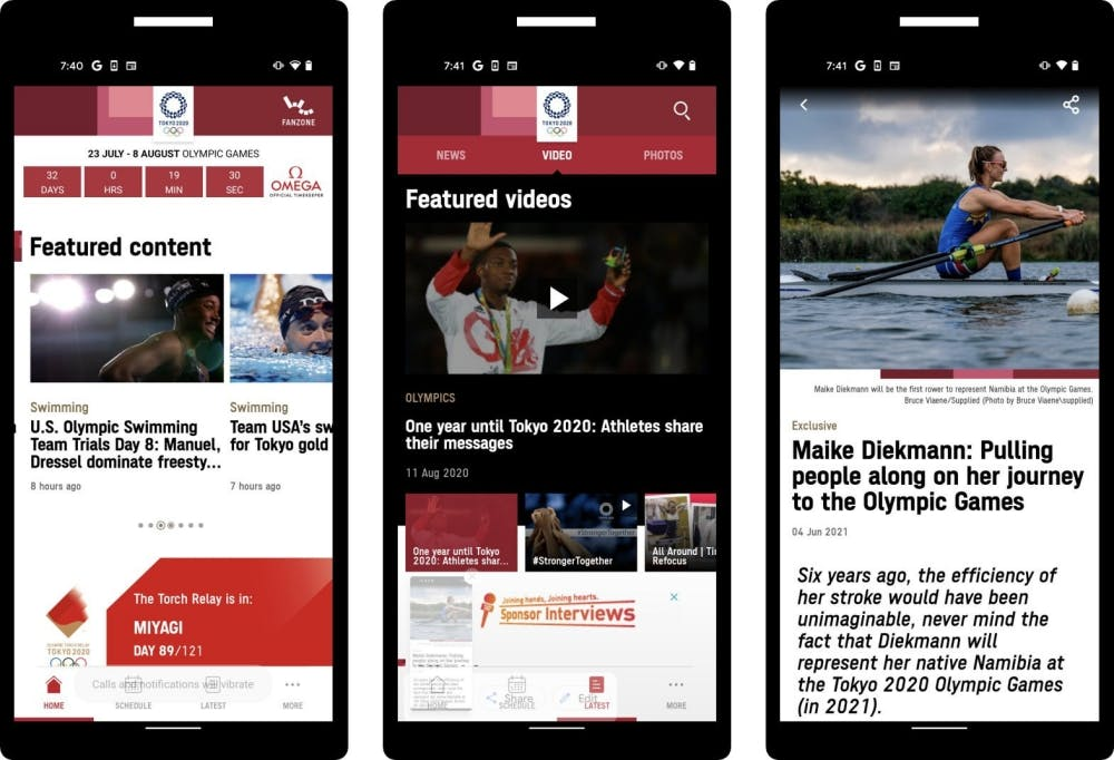 Διαθέσιμη η επίσημη εφαρμογή για τους Ολυμπιακούς Αγώνες του Τόκιο