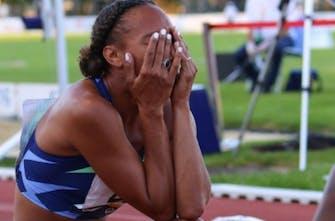 Δάκρια ευτυχίας από τη Lamote για την νίκη με χρόνο κάτω από το Ολυμπιακό όριο στα 800 μέτρα! (Vid)