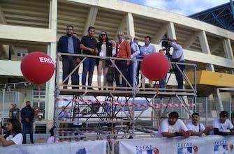 Σακοράφα και Αυγενάκης έδωσαν το σύνθημα εκκίνησης στο Run Greece Ηρακλείου