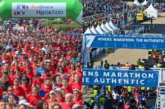 Run Greece και Μαραθώνιος Αθήνας σηματοδοτούν την «επιστροφή» του μαζικού αθλητισμού - Όλα έτοιμα για τη γιορτή του Ηρακλείου