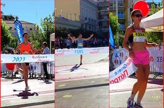 Run Greece Πάτρας: Νικητές στα 10 χλμ. Γκιούρα και Βασιλάτου – Επικράτησαν στα 5 χλμ. οι Σκούρτης και Κοτσαχεΐλη (Pics)