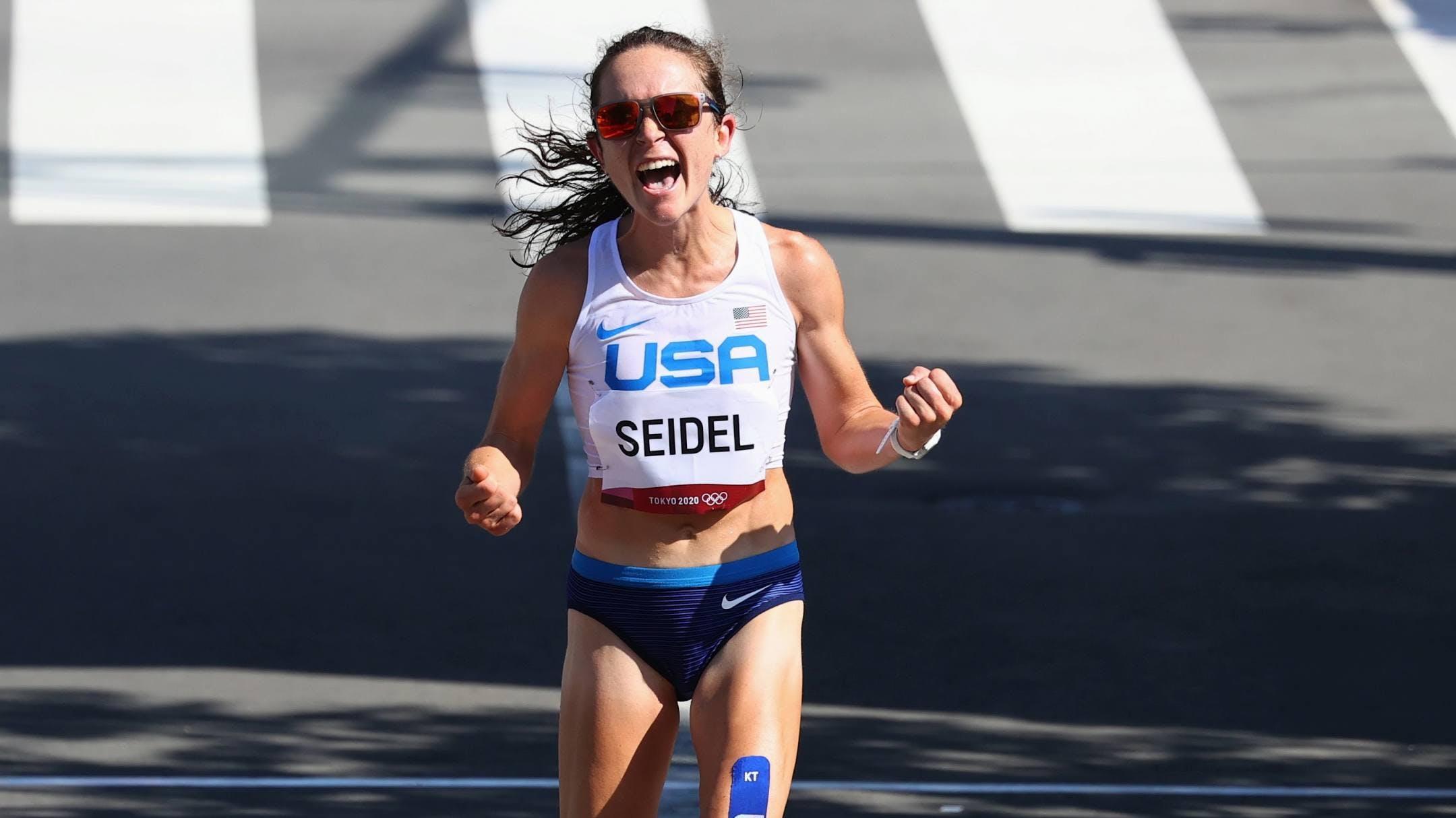 Molly Seidel: Η 3η γυναίκα των ΗΠΑ που κατακτά μετάλλιο στην ιστορία του Ολυμπιακού Μαραθωνίου