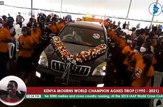 Κένυα: «Λύγισε» όλη η αθλητική χώρα στο τελευταίο «αντίο» για την Τirop - Η ελίτ των δρόμων στην κηδεία της (Vid)