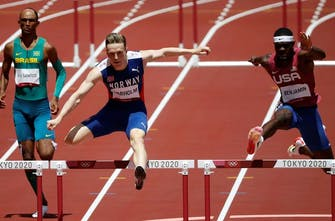 Η κούρσα των ρεκόρ τα 400μ. με εμπόδια, με ένα Παγκόσμιο, δύο Ηπειρωτικά και τρία Εθνικά ρεκόρ!