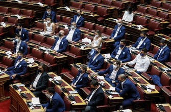 Τιμήθηκαν στη Βουλή οι Έλληνες Ολυμπιονίκες του Τόκιο