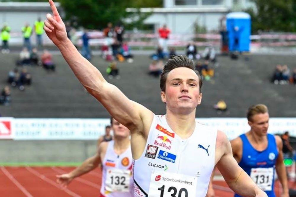 Εθνικό ρεκόρ στα 300 μέτρα για τον Warholm με 32:49