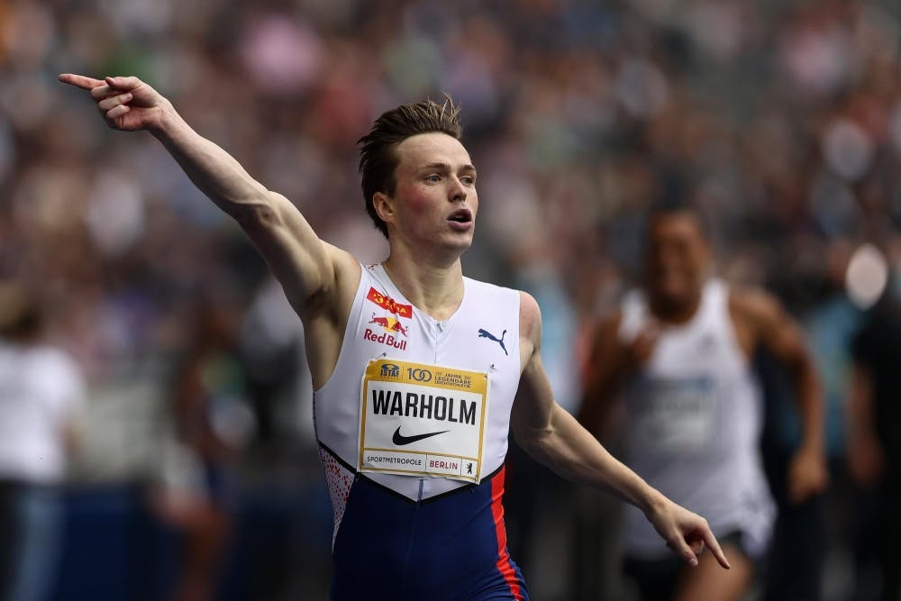 O Warholm έκλεισε αήττητος τη σεζόν του με μία ακόμα νίκη στο Βερολίνο