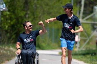 Έγραψε ιστορία ο φιλανθρωπικός αγώνας Wings for Life World Run